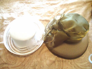 2 Women's Dress Hats - New with Tag (by Farbella)