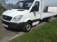 Mercedes Sprinter 313Cdi 3.5T Transit XLWB **EXTRA LONG** 17ft (5m) Dropside