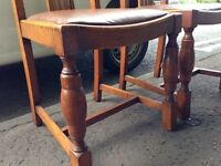 Strong Hardwood Dining Chairs.Delivery Offered