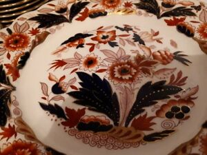 Booths China - Dovedale a8044 Imari - dinner plates $15 each