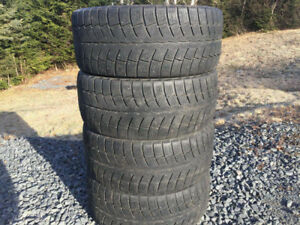 Four 235/45R17 Winter Tires Excellent Tread