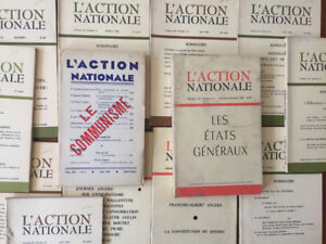 Action Nationale- 13 Exemplaires