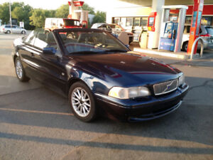 1999 Volvo C70 Convertible Low Km. No Winters Pas Hiver Top Shap