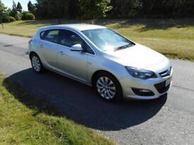 2013 63 Vauxhall Astra 1.7 Cdti Diesel, 5 Door, Low Miles, Silver, Bargain, P/X