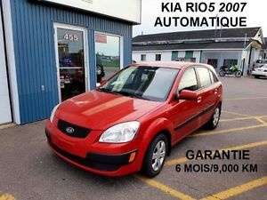 2007 Kia Rio Rio5 EX Commodité Berline