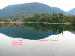 Beautiful Recreational Arrow Lakes Waterfront Acreages