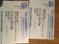Chris Ramsey and Jason cook X2 tickets south shields