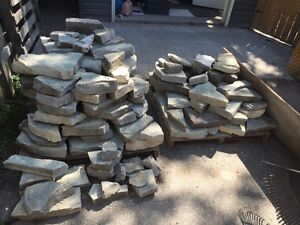 Patio stone for sale $200 or best offer. Pick up only. 2 skids  Peterborough Peterborough Area image 1