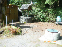 Very desireable campsite at Honeymoon Bay on Lake Cowichan