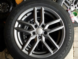 Volkswagen ,Aftermarket  rims with tires