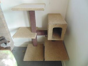 VERY LARGE CAT TOWER