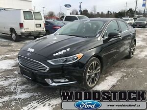 2017 Ford Fusion Titanium  0 PERCENT OAC, UP TO 72 MONTHS, AWD,