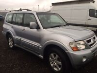 Mitsubishi shogun 3.2 diesel every extra px welcome