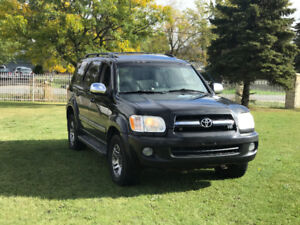 2007 Toyota Sequoia LIMITED SUV -- Fully loaded -- CERTIFIED