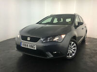 2014 SEAT LEON SE TDI ESTATE DIESEL 1 OWNER SERVICE HISTORY FINANCE PX WELCOME