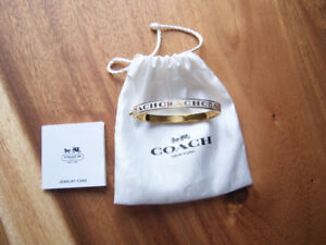 AUTHENTIC COACH BANGLE
