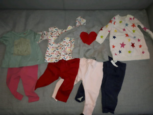 Baby girl 12 months clothing lot
