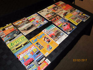 Misc. 1970 and 80's Hot Rod/Car Magazines