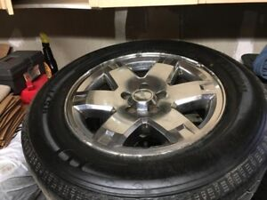 Jeep Tires on Rims