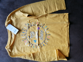 Carter's yellow top size 5T