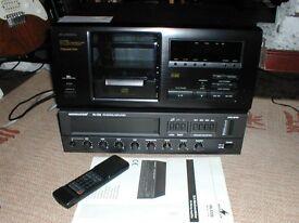 Monacor P.A. amp,Denon,Optimus multi CD