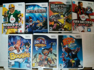 Nintendo Wii video game lot of 7 $20