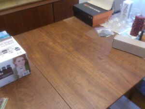 Danish teak dining room table only Kitchener / Waterloo Kitchener Area image 4