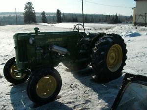 tracteur john deere 420 U