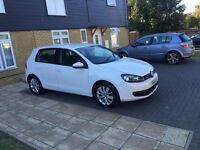 Vw golf Tsi 5 door, white, gti, tdi, Gt, very low mileage, excellent condition, White not a3,sciroco