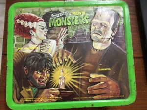 Vintage Aladdin Lunch Box Universal Studios Monsters