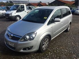 2012 Vauxhall Zafira 7 seater Top Spec Px welcome