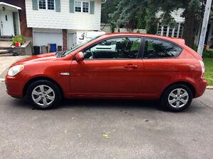 2008 Hyundai Accent- 81 000Km!/ 3 650$ / A/C