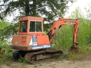 kh 151 kubota excavator .