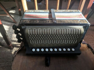 Hohner One-Row Melodeon in D