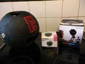 Fitness bundle medicine ball 6kg zon ball
