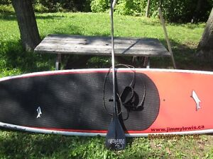 Jimmy Lewis stand up paddle board