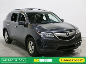 2014 Acura MDX SH-AWD NAVIGATION CUIR TOI 7 PASSAGERS