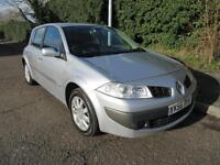 2007 RENAULT MEGANE 1.6 MANUAL PETROL 5 DOOR HATCHBACK