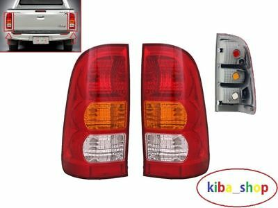 NEW TOYOTA HILUX MK6 05-12 REAR TAIL LIGHT LENS PAIR LEFT AND RIGHT SIDE