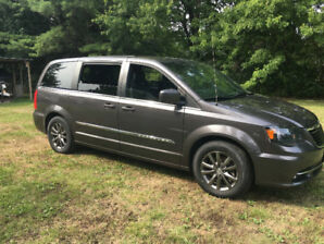 Rare 'S' Package Chrysler Town and Country Blacktop Edition