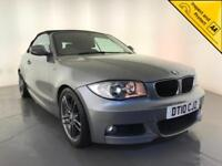 2010 BMW 118D M SPORT SOFT TOP CONVERTIBLE DIESEL LEATHER SEATS SERVICE HISTORY
