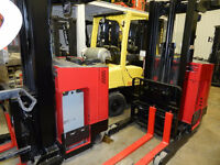 SMforklift fin de locations Raymond Yale Crown reach lift