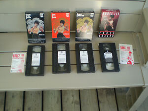 Bruce Lee casette vhs de colection (neuf)