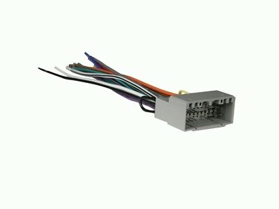 FOR SELECT 2002-2010 DODGE Radio Wiring Harness Adapter #6502 Dodge Dakota Radio Wiring Harness