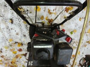 """Selling a 24"""" Sno-tek Snow Blower Sold"""