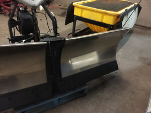 8.5' Fisher vblade, with mounts harness wiring and controller/