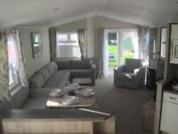 For sale new static caravan holiday home sited south Devon beach pool bar club