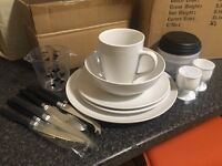 SOLD - Set of 32 Cookware plus Dining Utensils