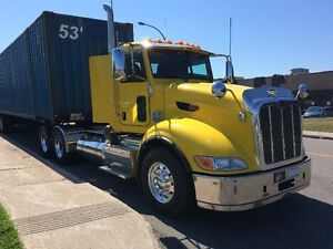 Peterbilt 386 2012 Day Cab 12x40 ISX-15