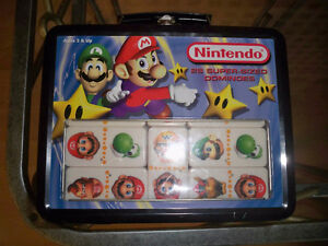 Nintendo 28 Super Sized Dominoes Sababa Toys 2004 Super Mario Se Windsor Region Ontario image 1